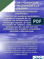 Certificar y Clasificar Hoteles de Vigencia a La