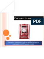 Emergency Contraception #