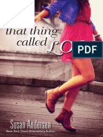 That Thing Called Love by Susan Andersen - Chapter Sampler