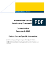 ECON2206 Course Outline