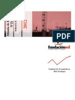 Minuta Empleo Fundación SOL. Febrero-Marzo-Abril 2012