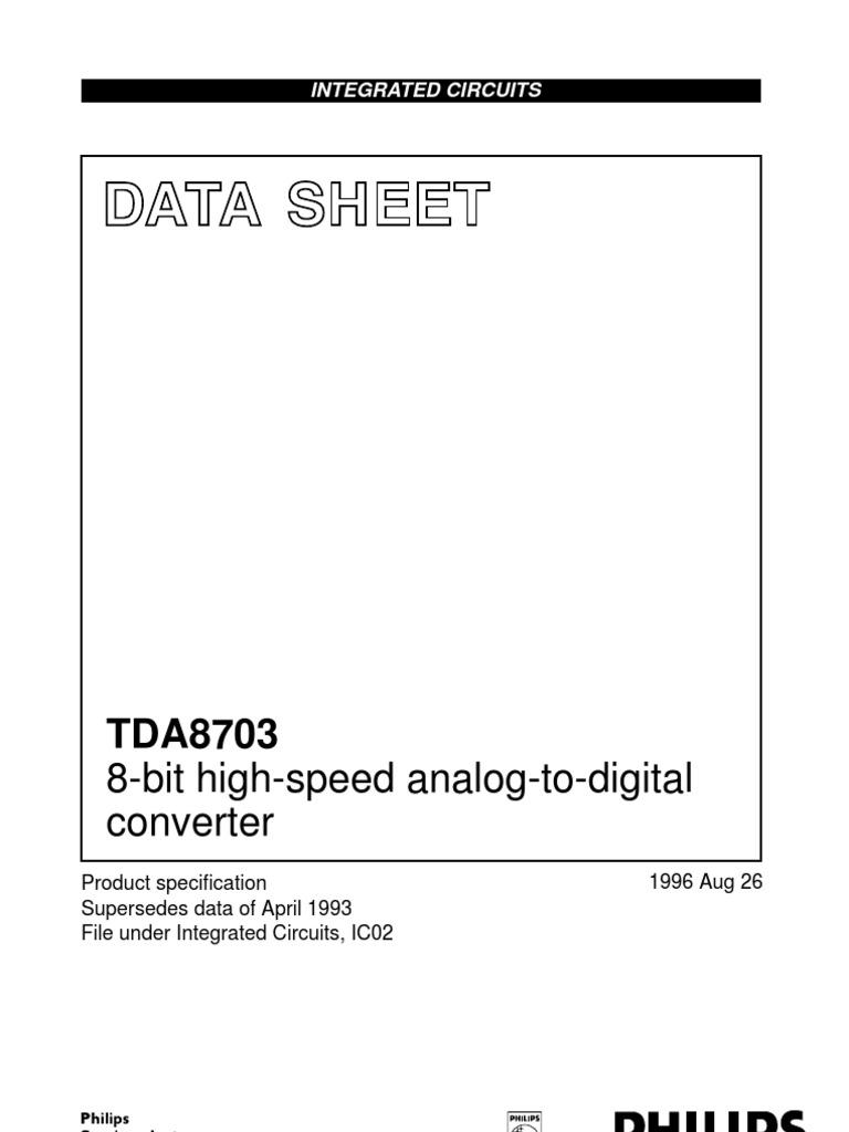 TDA8703 PDF