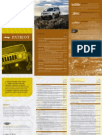 2012 Jeep Patriot Specs