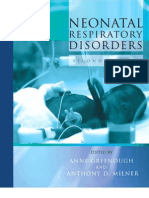 Neonatal Respiratory Disorders. 2nd Ed.