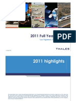 Thales_2011 Annual Results_slide Show v3
