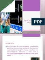 MONITORIZACION- anestesiologia