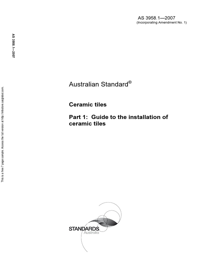 As 39581 2007 ceramic tiles guide to the installation of ceramic as 39581 2007 ceramic tiles guide to the installation of ceramic tiles tile adhesive dailygadgetfo Choice Image
