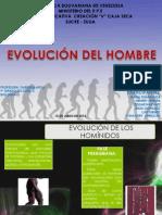 EVOLUCIÓN DEL HOMBRE