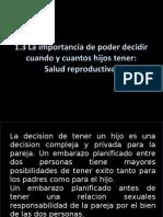 Tema 1.3 Salud Reproductiva.