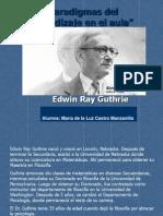 Biografia Edwin Ray Guthrie