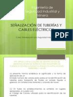 SEÑALIZACIÓN DE TUBERÍAS Y CABLES ELÉCTRICOS