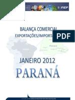 Balanço Paraná Jan2012