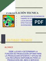 Evaluacion de Proyectos,Tecnica