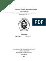 Pengendalian Bau Dan Hidrogen Sulfida