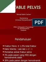 PP Unstable Pelvis