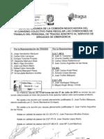 Acta Segunda Comisión Negociadora VI Convenio UBE