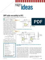Voltage to Frequency Converter