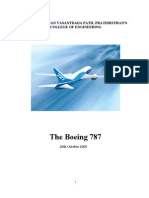 The Boeing 787 Airplane