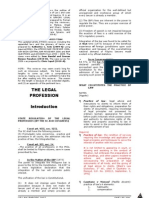Legal Ethics Reviewer in Template for Printing