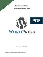 Panduan wordpress