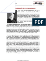 Breve Biografia de Jean Henri Dunant