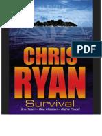 Chris Ryan - Alpha Force - 01 - Survival