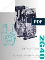 HATZ engine 2G40_E