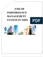 Analysis of Performance Management