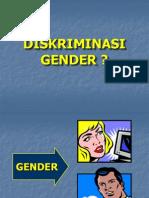 Konsep-Gender & Diskriminasi