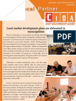 June/July E-newsletter of the Civil Development Agency (CiDA)