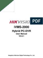 iVMS-2000 V2.0.1 User Manual