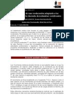 Reeducacion Del Sd Dorsolumbar Recidivante
