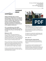 Dewpoint Measurement in SF6 Gas-Insulated Switchgear