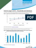 Statistici Internet Eurostat