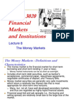 Fnce 3020 Financial Markets and Institutions4724