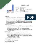 NguyenTrongLinh_CurriculumVitae