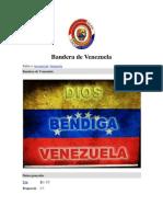 3 de Agosto Día de la Bandera de Venezuela
