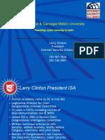 2009 09 30 Larry Clinton Carnegie Cadet Academy Presentation for Estonia