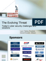 2008 06 07 Larry Clinton Rochester Presentation About Evolving Threat and Best Practices