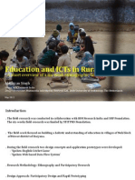 Education & ICTs in Rural India - An Overview