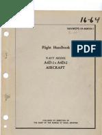 Flight Handbook Navy A4D-1 & A4D-2 Aircraft (1962)