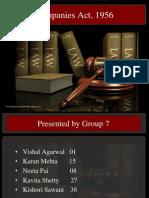 Presentation Companies Act Group -7