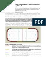 Exigences de protection Niveau 4 pour les compétitions sur courte piste (FEC 0,90 à <1,15)