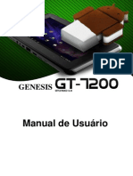 Manual Do Tablet GT-7200 Portugues