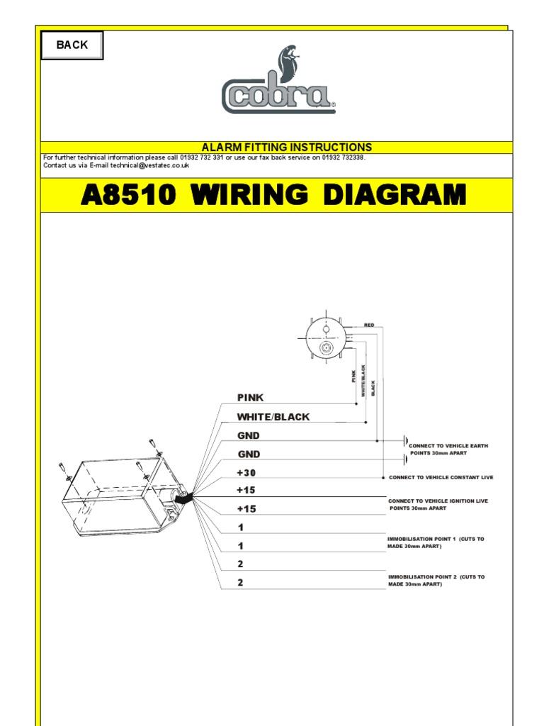 Viper Alarm Installation Diagram Electrical Wiring Diagrams Toyota Trusted Dei