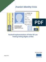 Pennsylvania Voter ID Law
