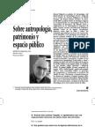 Manuel Delgado sobre antropologia y espacio público