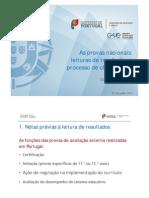 gave [conselho de escolas] 2012_as provas nacionais, leituras de resultados e processo de classificação [27 julho].pdf