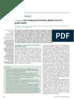La Pandemia de La Inactividad_The Lancet Phys Activity 20120723 5
