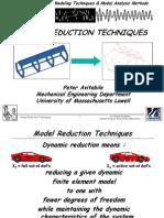 Model Reduction 061904